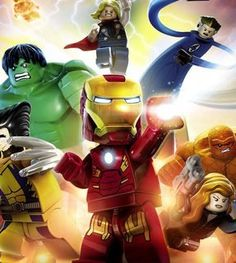 As if we didn't have enough to get excited about today, what with all the snow, now we have news of THREE brand new LEGO games, AND THEY'RE ALL COMING THIS YEAR.  Avengers! Jurassic World! Ninjago! THIS YEAR! Come inside and join us as we get far too excited about the latest LEGO fun