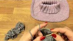 Návod na pletený nákrčník z hrubé příze - YouTube