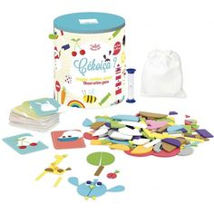 Vilac Zlož do minúty! | edukacnehracky.sk Ga Game, Literacy Bags, Data Sheets, Educational Games, Jouer, Toy Boxes, Pinball, Trivia, Your Child
