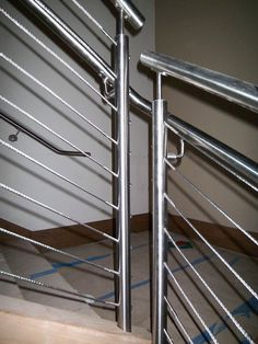 Our cable railing systems give your stairs a distinct modern touch. Expertly installed, they lend a unique beauty to your stairs. Cable Railing Systems, Newel Posts, Wood And Metal, Interior And Exterior, Southern, Stairs, Modern, Stairway, Trendy Tree