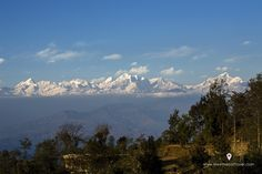 view of Jugal Hiamalayan range from Dhulikhel Jugal Hiamalayan range of Nepal is the nearest Himalayan range from kathmandu valley.