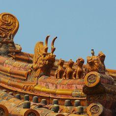 The Emperor's private home. Forbidden City, Beijing