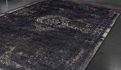 Orientteppich | gefärbt gewebt |  -schwarz beige-  Vintage-Teppich - Bild vergrößern