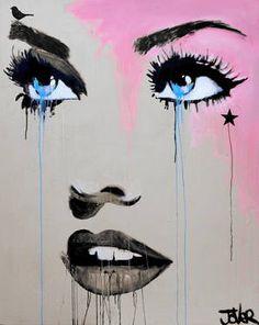 """Saatchi Art Artist Loui Jover; Painting, """"starlette """" #art"""