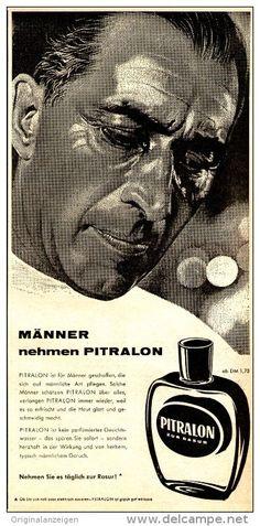 Original-Werbung/ Anzeige 1958 - PITRALON - ca. 130 x 240 mm