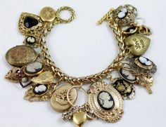 I love cameos, I've never seen a bracelet of them before.....luv luv it