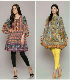 Pakistani Lawn Dresses Stitching Designs For Girls In 2019 – FashionEven Pakistani Kurta Designs, Pakistani Frocks, Pakistani Dress Design, New Kurti Designs, Short Kurti Designs, Kurti Designs Party Wear, Pakistani Fashion Casual, Pakistani Dresses Casual, Stylish Dresses For Girls