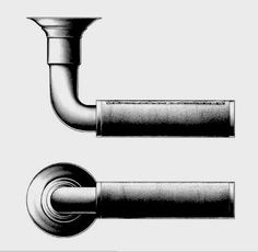 ER Butler Cylindrical Series Leather Lever