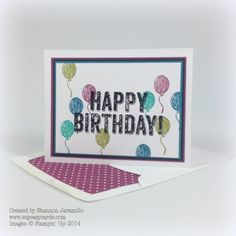 Happy Birthday Josh!! Created by Shannon Jaramillo www.ezpeasycards.com