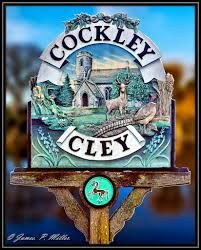 Cockley Cley vilage sign