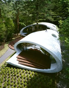 Ultramodern Shell Residence by ARTechnic Architects