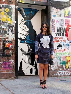 Amazing Street Style From New York Fashion Week   StyleCaster