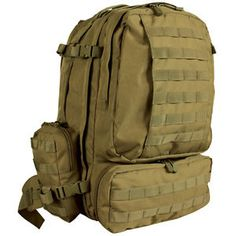 Tactical-Military-Advanced-3-Day-Combat-Modular-MOLLE-Backpack-COYOTE-DESERT-TAN