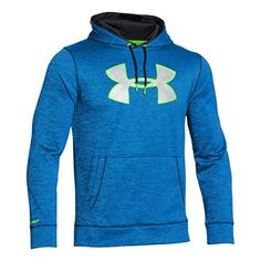 Under Armour Mens Storm Armour Fleece Twist Hoodie Blue Jet 405 XLarge      To 0bf55856ac