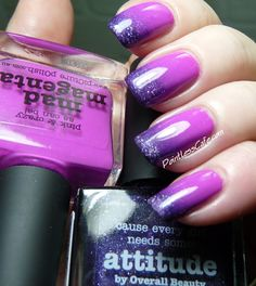 piCture pOlish Mad Magenta with Nail Art | Pointless Cafe