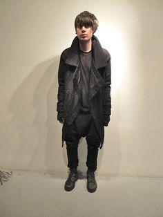 bostonroll:    Boris Bidjan Saberi fall 2012 cargo coat with thumb hole sleeves