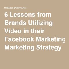 6 Lessons from Brand