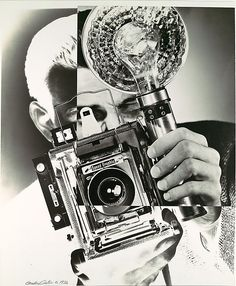 Gordon H. Coster (American, 1906–1988). [Portrait/Self-Portrait with Speed Graphic Camera], ca. 1932. The Metropolitan Museum of Art, New York. Ford Motor Company Collection, Gift of Ford Motor Company and John C. Waddell, 1987 (1987.1100.361)