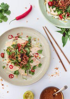 Vietnamese Banh Cuon Thanh Tri