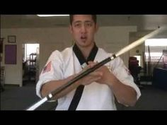 "Red Tournament Competition 72/"" 2 Dragon Bo Staff/'s Martial Arts Training Black"