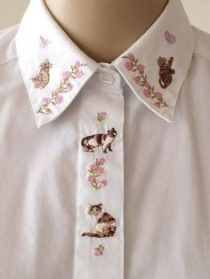 Cat collar shirt