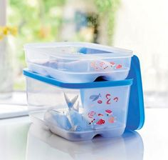 How do you store meat, fish in the fridge? Tupperware cool mates may just be what you need.  Store and defrost your meats, poultry and fish in the fridge. Make the most out of the space in your fridge. Cool Mates £ 14.00 // via Tupperware UK