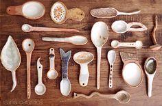 isania ceramica spoons spoons spoooons