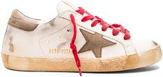 Please click on the picture to go to the detail page. Golden Goose Leather Superstar Low Sneakers