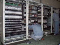 Leca:::Detalle-Ingenieria Eléctrica-Cuadros eléctricos