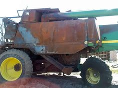 John Deere 9610 combine salvaged for used parts. This unit is available at All States Ag Parts in Salem, SD. Call 877-530-4010 parts. Unit ID#: EQ-24583. The photo depicts the equipment in the condition it arrived at our salvage yard. Parts shown may or may not still be available. http://www.TractorPartsASAP.com