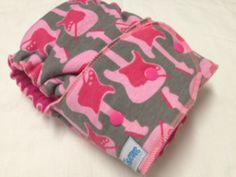 """Diaper Donks - It's Electric {Pink Serged} OS """"AMU"""" Hybrid Fitted *TESTER*"""