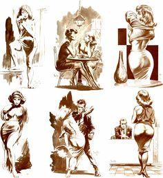 Frank Frazetta, Conan, Tarzan, Vampirella, Famous Funnies
