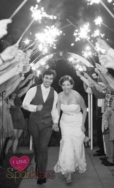 A wedding is a magical day that only happens once in a lifetime. Make the day memorable for all with a unique send off for the happy couple.  Wedding sparklers are beautiful, safe, and always a joy.