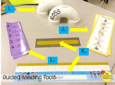 LOTS of ideas to use as Guided Reading tools