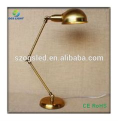 Adjustable Table Lamp in Bronze with industrial adjustable table lamp with pipe joints