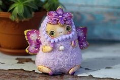 fairy collectible doll fantasy fairy ooak doll pixi art fairy