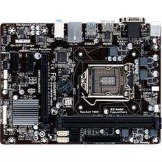 Gigabyte-LGA-1150-Intel-H81-HDMIDVID-SUM-USB30SATA-6GBs-Dual-UEFI-BIOS-GA-H81M-HD2 #motherboards #computers #computerparts #systemboards #gaming