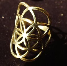 Hey, I found this really awesome Etsy listing at https://www.etsy.com/listing/208778224/seed-of-life-ring-sacred-geometry
