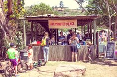 Five Minutes Peace at the Play Market