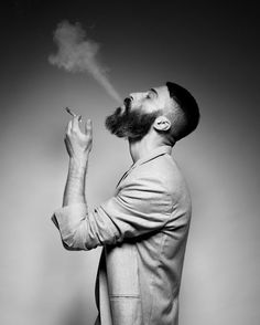 Sasha Marini.  Hair cut and beard. Want them both.
