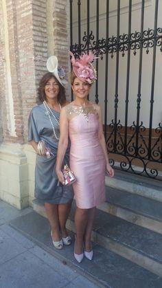 www.modadetemporada.es vestidos y tocados para bodas de mañana