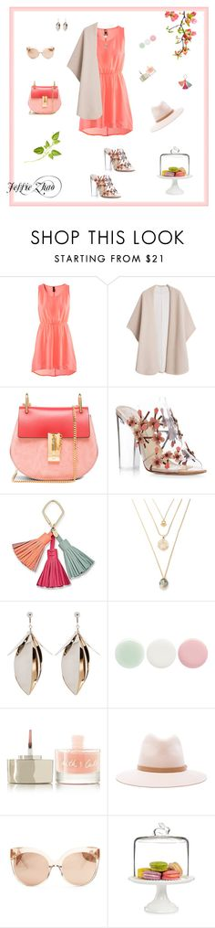 """Untitled #251"" by jesszzz on Polyvore featuring H&M, MANGO, Chloé, Paul Andrew, FOSSIL, Proenza Schouler, Nails Inc., Smith & Cult, rag & bone and Linda Farrow"