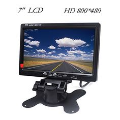 "HD Car Monitor Padarsey 7"" HD 800×480 LED Backlight TFT LCD Monitor for Car Rearview Cameras, Car DVD, Serveillance Camera, STB, Satellite Receiver and other Video Equipment. For product info go to:  https://www.caraccessoriesonlinemarket.com/hd-car-monitor-padarsey-7-hd-800x480-led-backlight-tft-lcd-monitor-for-car-rearview-cameras-car-dvd-serveillance-camera-stb-satellite-receiver-and-other-video-equipment/"