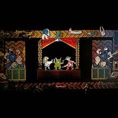 """Mi piace"": 2, commenti: 3 - massimo j. monaco (@massimo.j.monaco.artist) su Instagram: ""THE GREAT  THEATER OF CUBIST PUPPETS (from the play Pinocchio) 1980 - m.3x10- Two-dimensional…"""