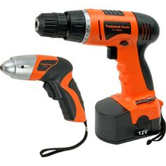 Cordless drill, handy for all kinds of things.
