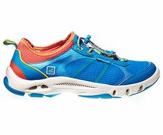 Water shoes that drain from the bottom. They work great and very ...
