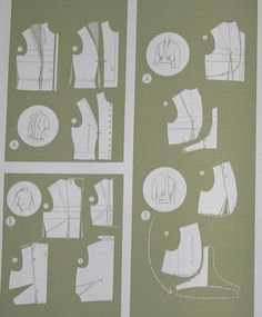 Pattern alteration ideas - Russian site