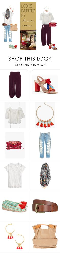 """Looks inspired by a Moroccan vacation"" by bearxco on Polyvore featuring Zedd Plus, Kate Spade, Talbots, J.Crew, Shiraleah, Casa de Vera, Will Leather Goods, Gorjana and Maison Margiela"