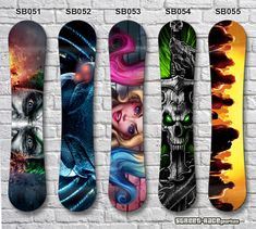Snowboard vinyl wrap Give your Snowboard a fresh look with our digitally printed vinyl wrap. They can be sized to fit any Snowboard. Our wraps are high resolution prints, made on a high specification vinyl inkjet printer and laminated Car Stickers, Car Decals, Inkjet Printer, Snowboard, Skateboard, Wraps, Graphics, Printed, Street
