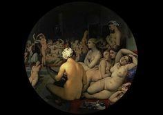 Artesplorando: Romanticismi - il bagno turco Louvre, Painting, Art, Romanticism, Art Background, Painting Art, Kunst, Paintings, Performing Arts